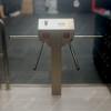 Waist Height Double Sided Single Leg Turnstile TS-50-A