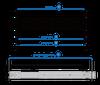 QNAP Rail-B01 Rail Kit for 2U Rackmount