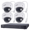 Vivotek ND9322P-2TB-4FD60 4-Camera IP Security System, Outdoor, Night Vision, 2TB Storage, 2MP