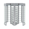 Full Height Dual Gate Turnstile Diamond Series AKT-S-601