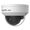 LTS VSIP7182W-28 8MP 4K H.265 Outdoor IR Dome Vandal Proof IP Security Camera with 2.8mm Fixed Lens