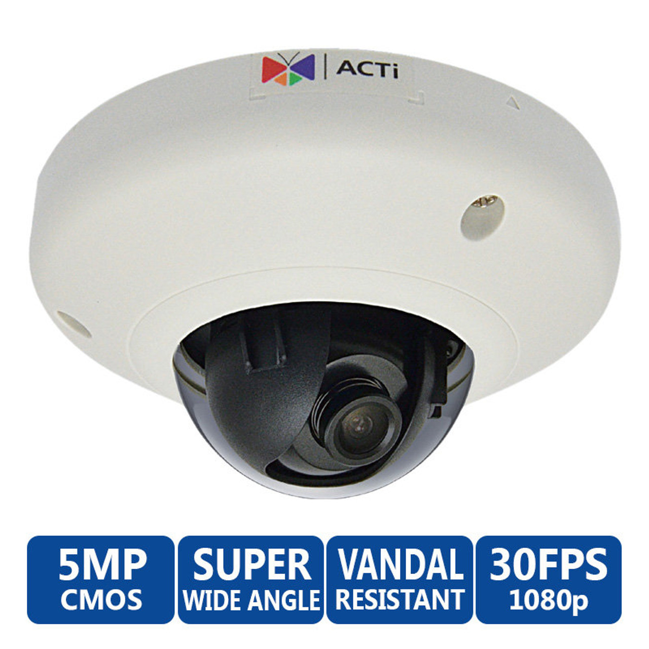 Acti E93 5 MP Indoor dome