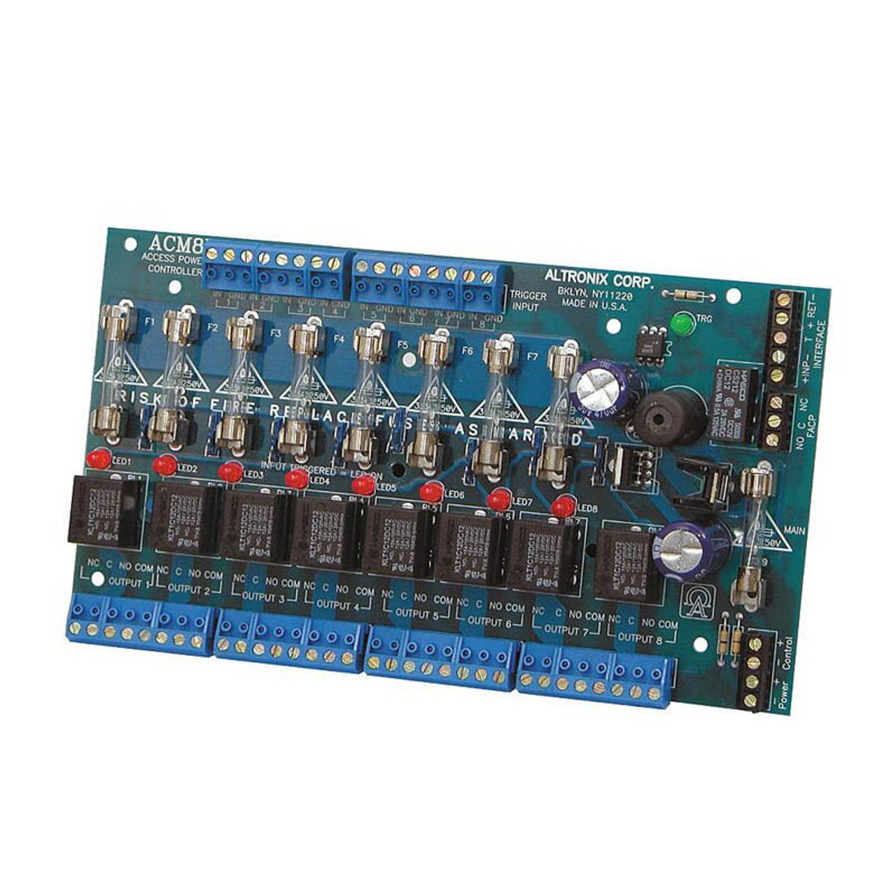 ALTRONIX ACM8 Access Power Controller 8 Fused Trigger