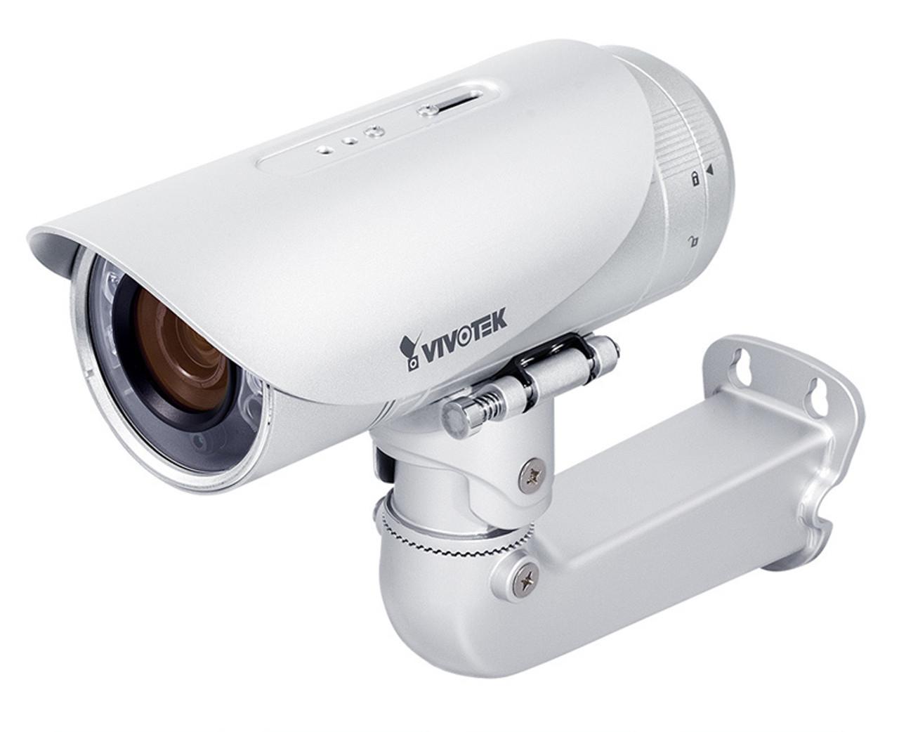 Vivotek IB8373-EH 3MP Outdoor IR Bullet IP Security Camera - WDR Pro, Smart  Stream, Smart Focus, 30M Smart IR