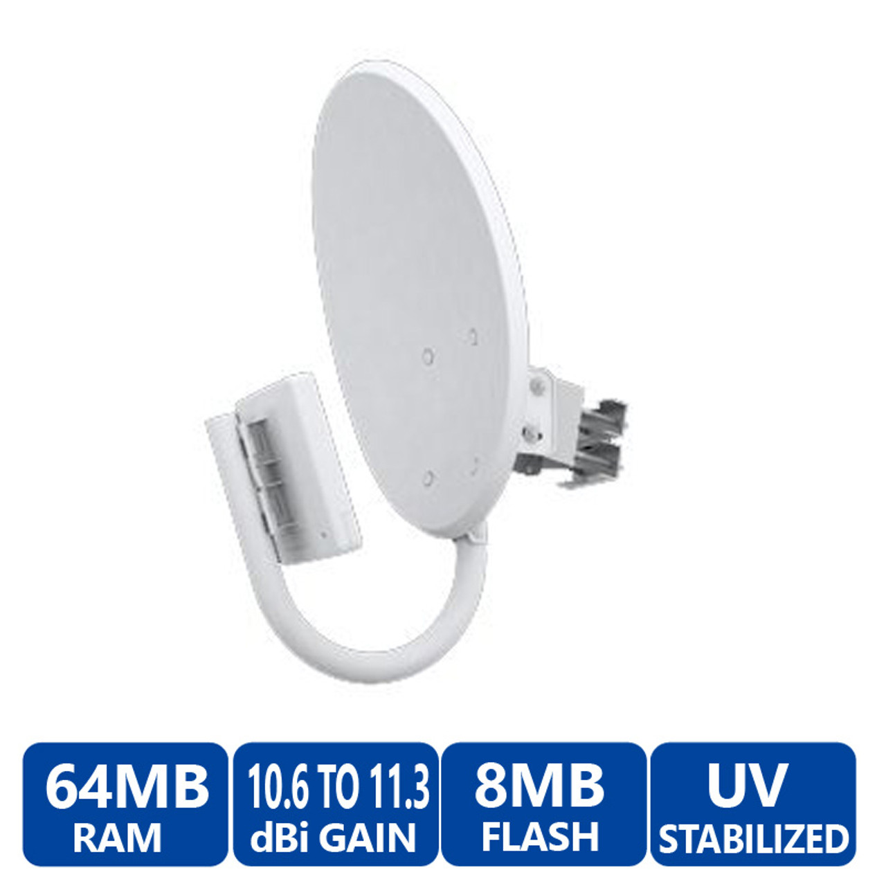 Ubiquiti NBM9 NanoBridge M9 airMAX Bridge (900 MHz) Non-Line-of-Sight  (NLOS) Compatible