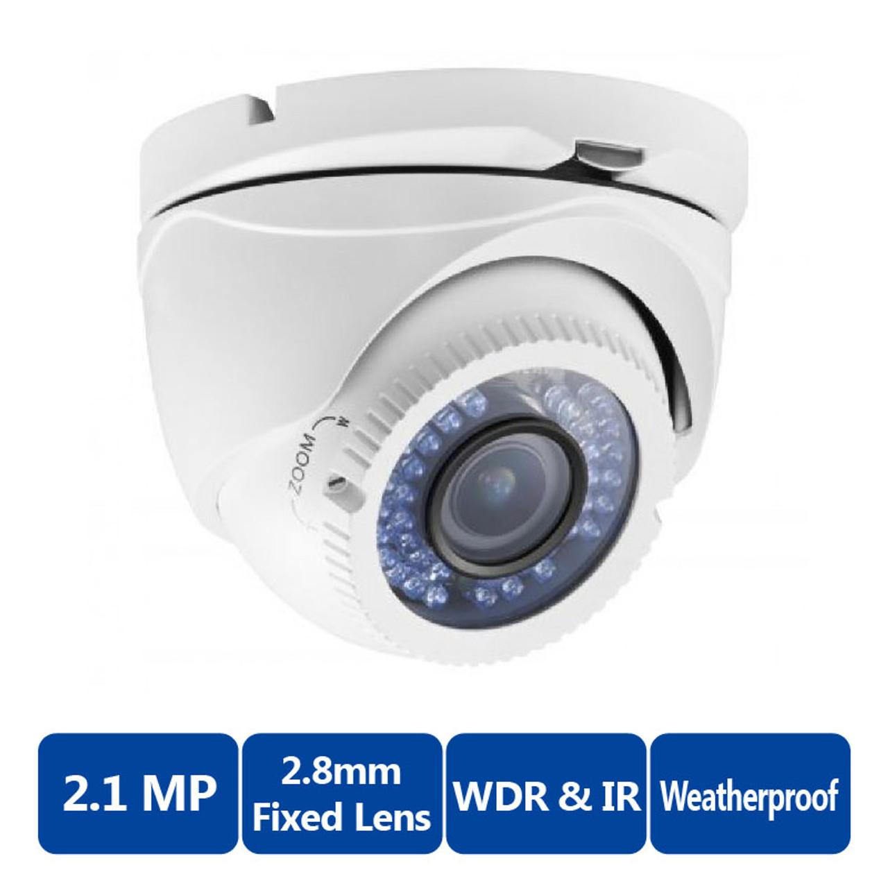 TURRET CAMERA 2.1MP//2.8mm LTS TVI 1080P LTS CMHT2122-28 Platinum HD-TVI