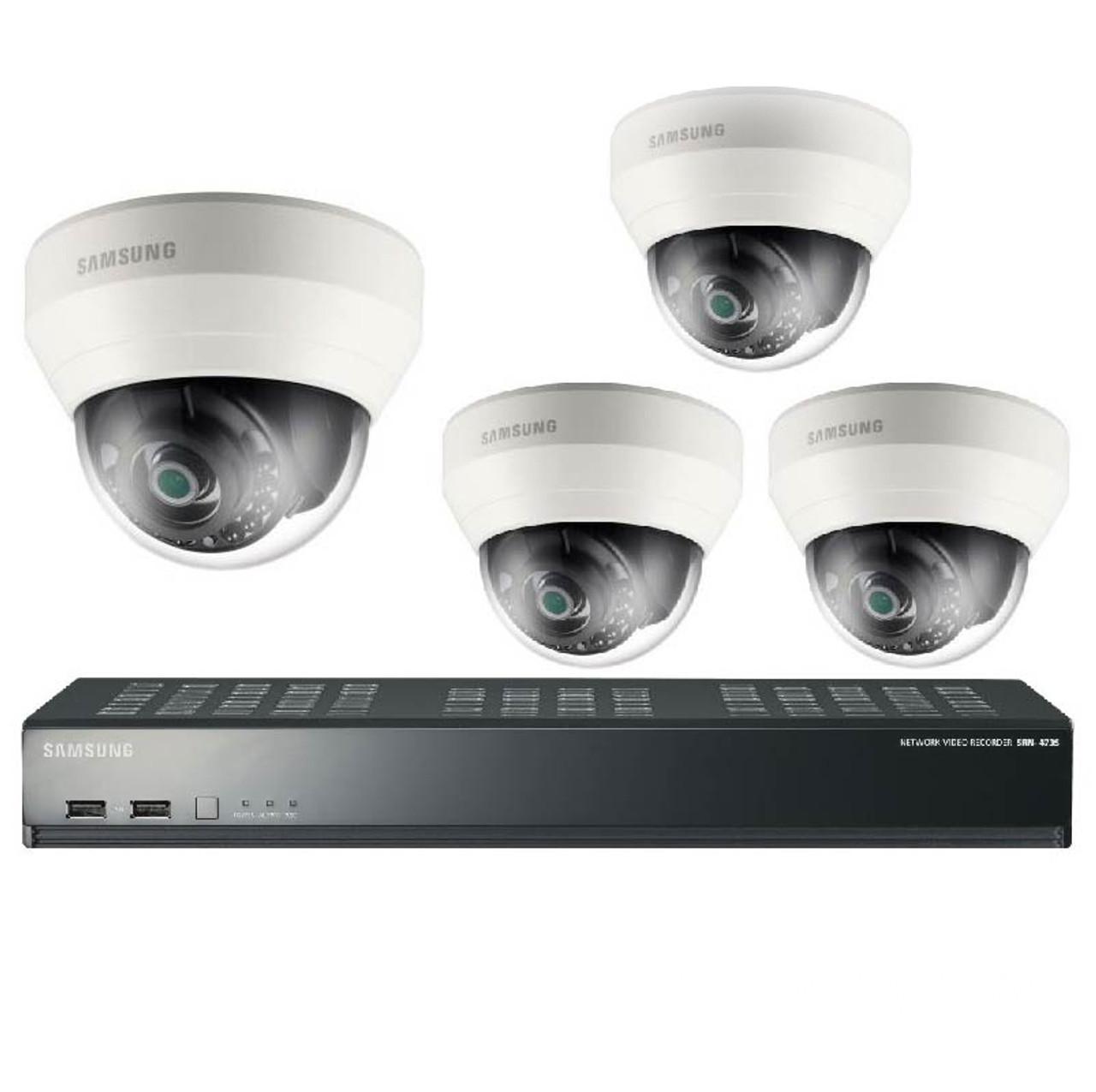 Samsung Srk 3040s 4 Camera 1tb Pre Installed Dome Ip