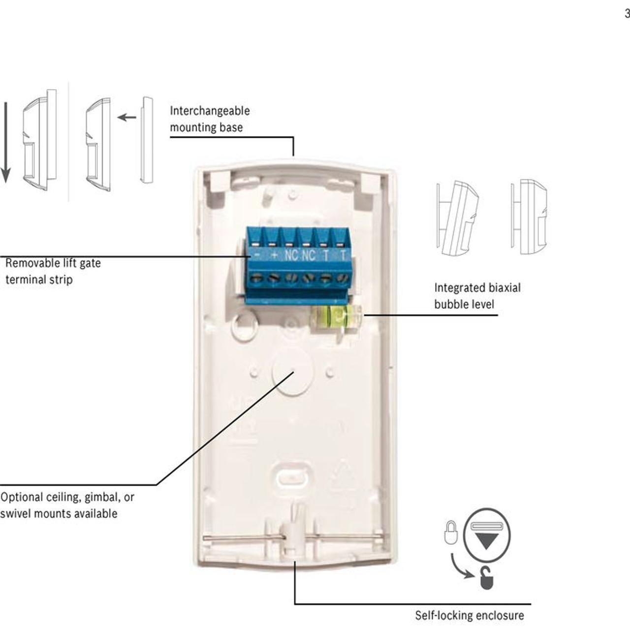 Bosch Isc Bpr2 Wp12 Blue Line Gen2 Pet Friendly Pir Motion Detector