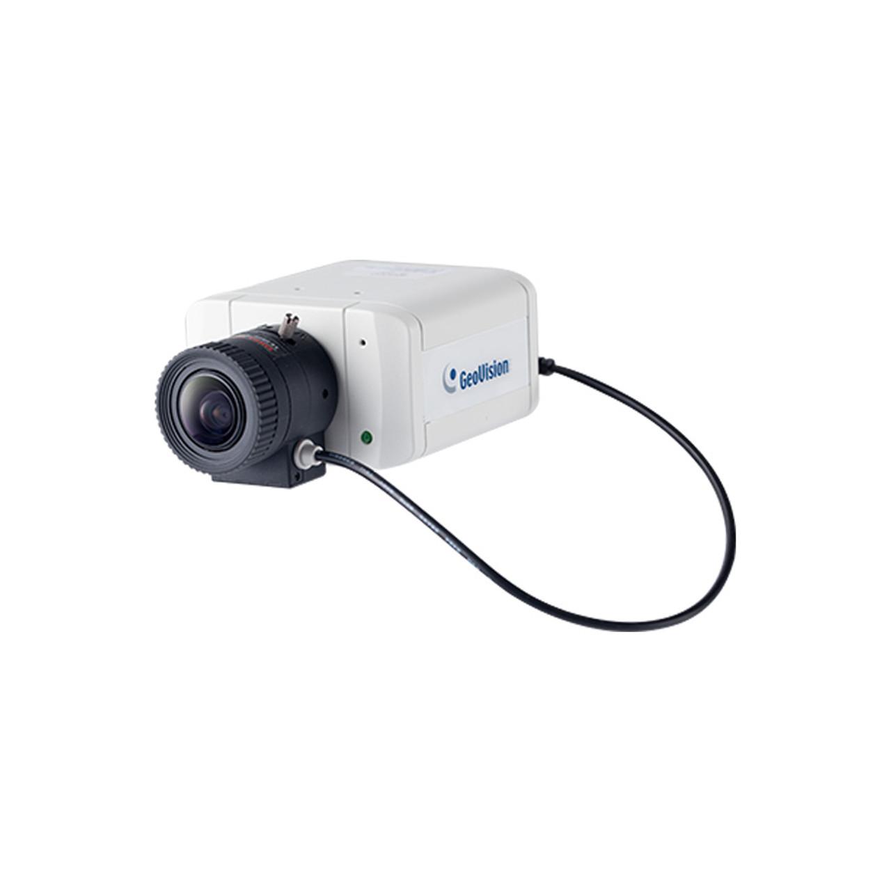 Geovision GV-BX2700-8F 2MP H 265 Indoor Fixed Box IP Security Camera