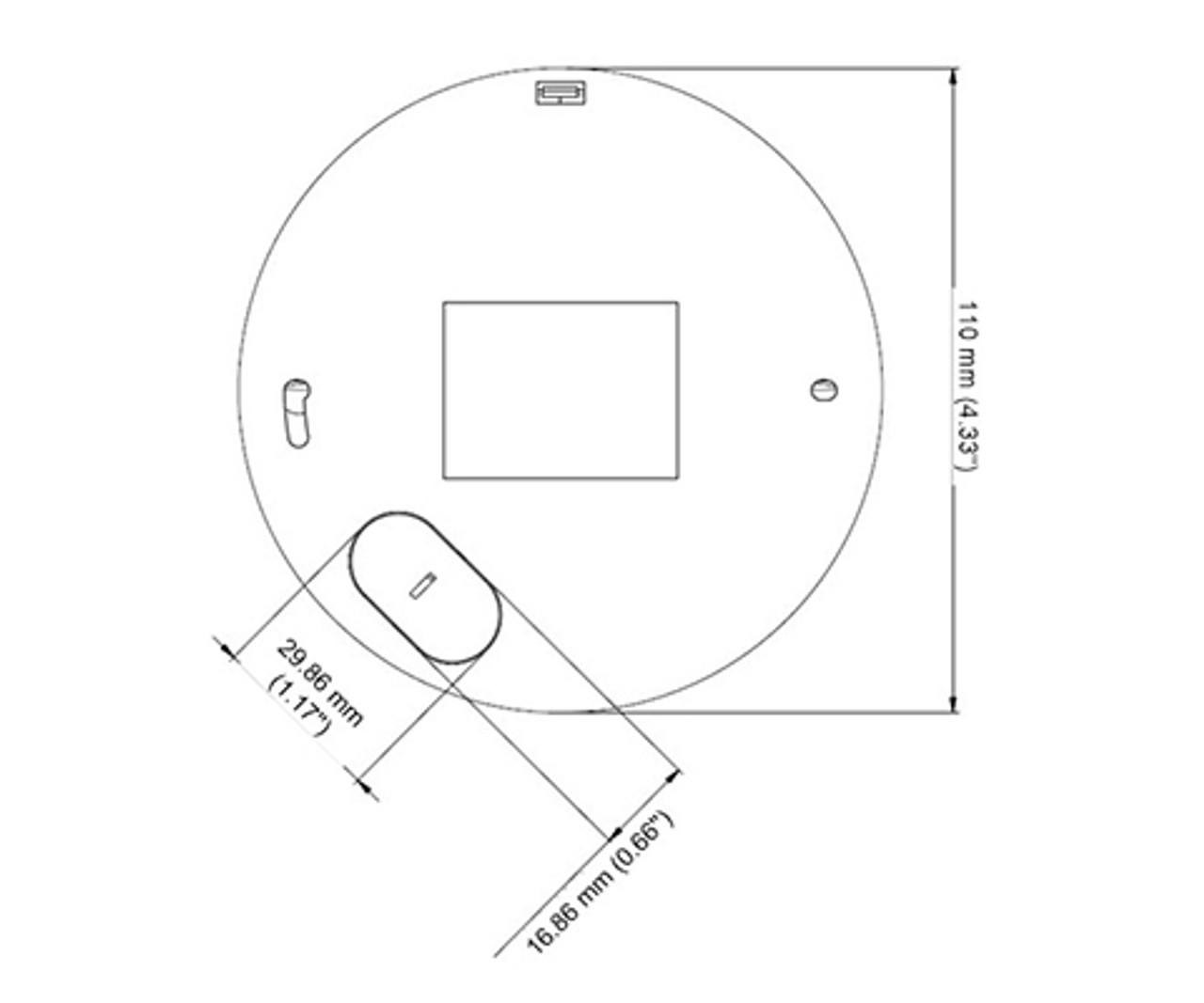 Geovision Gv Mfd4700 2f 4mp Ir H 265 Indoor Mini Dome Ip Security Camera