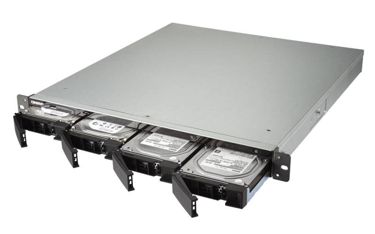QNAP TS-463U-RP-4G-US 1U 4-Bay AMD 64bit x86-based NAS - 4GB RAM