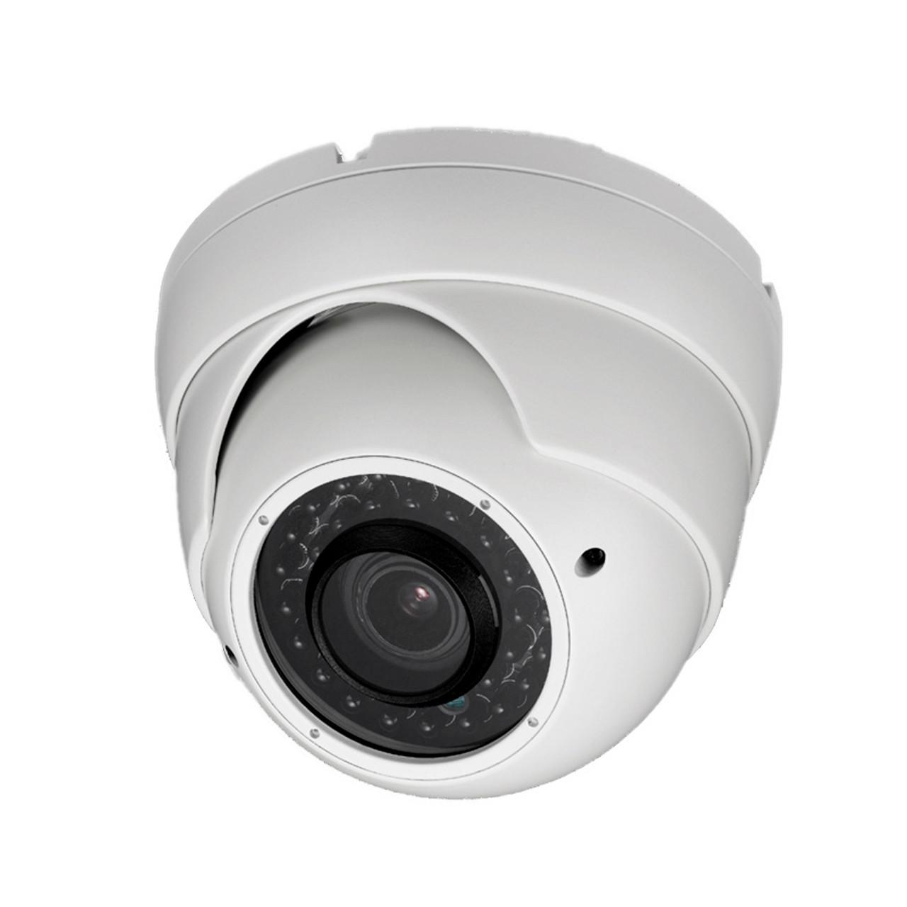 HD CCTV 2 MP Dome Security Camera HD CVI AHD TVI Analog CVBS Outside White Led
