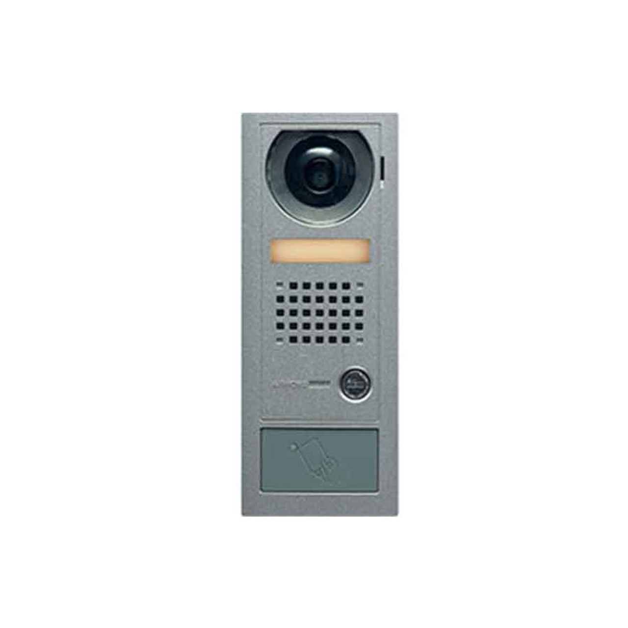 Aiphone AX-DV-P Video Door Station with HID ProxPoint Plus Reader, Surface  Mount
