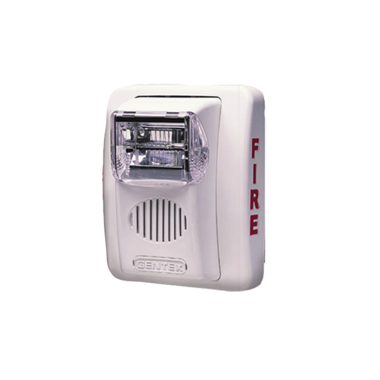 Strobe Speaker-Ceiling Mount-15cd-White