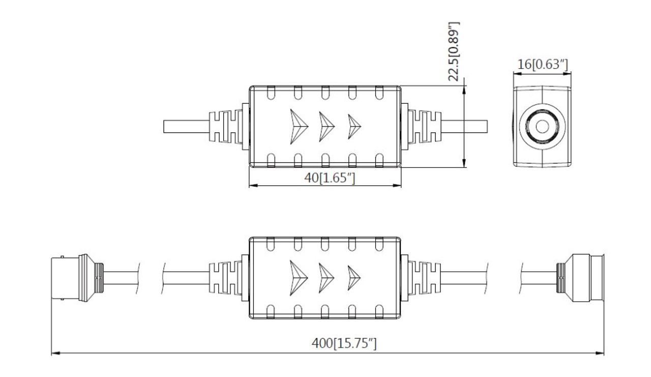 HD-Video Isolator PFM791 von Dahua