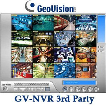 Geovision GV-NR016 16 Channel 3rd Party NVR Software License 55-NR016-000