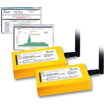 Avalan Wireless AW900iTR-PAIR 900MHz Indoor Wireless Network Bridge