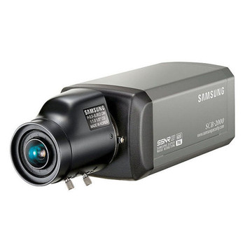 Samsung SCB-2000 600TVL Indoor Box CCTV Analog Security Camera
