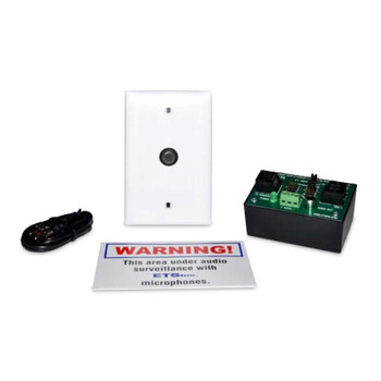 ETS SM5-EA Single Zone POE Audio Surveillance Kit for IP Cameras