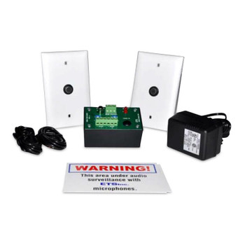 ETS SM5-M2 Expanded Single Zone Audio Surveillance Kit