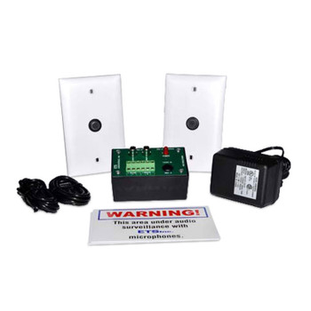 ETS SMI-3 2 Zone Audio Surveillance Kit