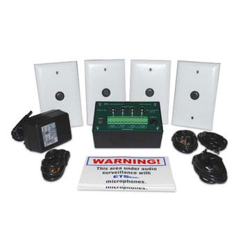 ETS SMI-5 4 Zone Audio Surveillance Kit