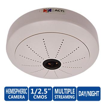 ACTi KCM-3911 4 Megapixel 360° Hemispheric IP Security Camera