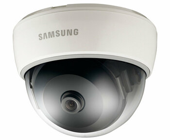 Samsung SND-5011 1.3MP Indoor Dome IP Security Camera - 3mm Fixed Lens, H.264, Day/Night