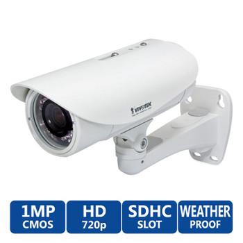 Vivotek IP8335H WDR 720P HD IR Bullet Security Camera