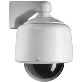 Pelco DF5HD-PG-E1 Heavy Duty Clear Dome Outdoor Pendant Housing - with Heater and Sun Shield