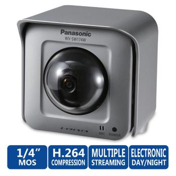Panasonic WV-SW174W i-PRO SmartHD Wireless Security Camera