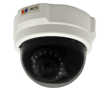 ACTi E53 3MP IR Dome IP Security Camera with 3.6mm Fixed Lens