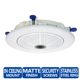 Mobotix MX-OPT-IC In-Ceiling Set - Q22/A24 & D22/D24 Security Camera