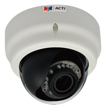 ACTi D65 3 Megapixel IR Day/Night Dome Network Security Camera