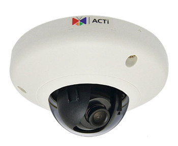 ACTi E91 1MP WDR Indoor Mini Dome IP Security Camera