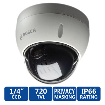 Bosch VEZ-423-EWCS Mini PTZ Vandal-Resistant 26X Dome Security Camera