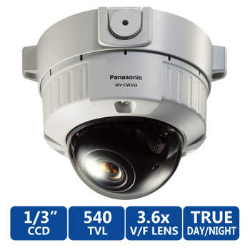Panasonic WV-CW334S 540tvl Day/Night Vandal Proof Dome Security Camera