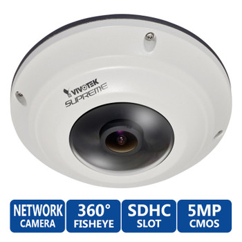 Vivotek SF8172V 5MP 360° Fisheye Outdoor Network Security Camera