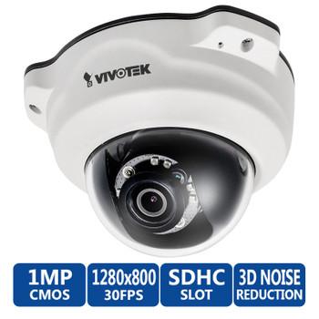 Vivotek FD8137HV 720p HD IR Vandal Proof Dome IP Camera - WDR pro