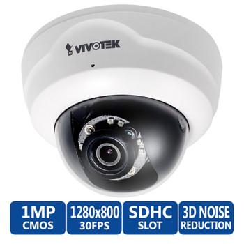 Vivotek FD8137H 720p HD Indoor IR Dome IP Camera - WDR Pro