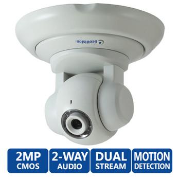 Geovision GV-PT220D 1080P HD Indoor Pan/Tilt IP Security Camera