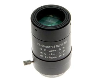 Arecont Vision MPL12-40 12-40mm Varifocal Lens - Manual IRIS, IR Corrected, CS-Mount
