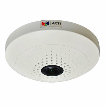 ACTi B55 10MP 360° Fisheye Dome Network Camera