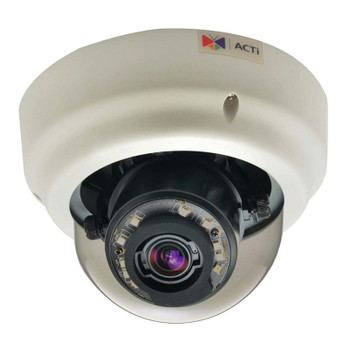 ACTi B61 5MP Indoor IR Dome IP Camera - Zoom lens