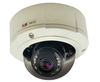 ACTi B85 2MP Outdoor IR Dome IP Security Camera with Zoom lens