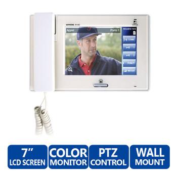 Aiphone JM-4HD Hands-Free Color Video Intercom Sub Master Station (White)