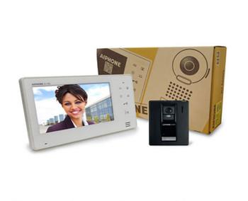 "Aiphone JOS-1F 7"" Monitor & Hands-Free Color Video Intercom Set"