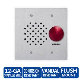 Aiphone LE-SSR Vandal-Resistant Sub Station - LAF-C