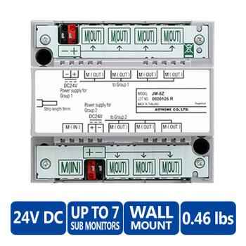 Aiphone JM-8Z Distribution Adapter - JM Series Video Intercoms