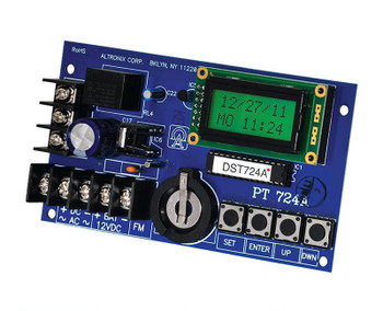 Altronix PT724A 365 Day 24 Hr Annual Event Timer Board - 12/24 VAC/VDC